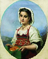 Young Italian with Sour Oranges, c.1870, makovsky