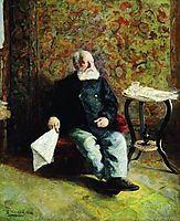 At the porter-s room, 1893, makovskyvladimir