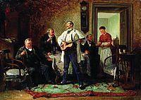 Buddies, 1878, makovskyvladimir