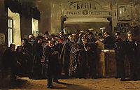 The Collapse of a Bank (study), 1880, makovskyvladimir