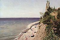 Crimean seashore, 1889, makovskyvladimir