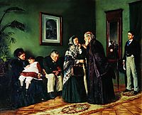 The Doctor-s Waiting Room, 1870, makovskyvladimir
