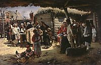 Easter Mass, 1888, makovskyvladimir