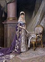 Empress Maria Feodorovna, c.1912, makovskyvladimir