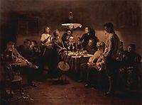 Evening company, makovskyvladimir