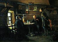 Fans of nightingales, 1873, makovskyvladimir