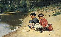 Fisherwomen, 1886, makovskyvladimir