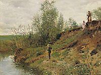 Fishing, 1884, makovskyvladimir
