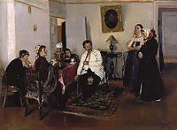 Hiring a servants, 1891, makovskyvladimir