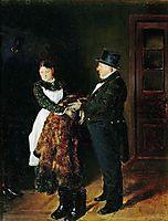 In the hall, 1884, makovskyvladimir