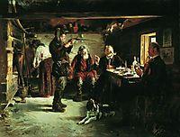 In the hut of forester, makovskyvladimir