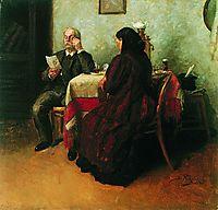 A letter, makovskyvladimir