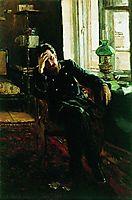 A letter, 1883, makovskyvladimir