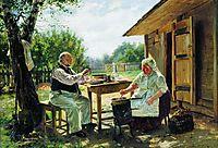 Making Jam, 1876, makovskyvladimir