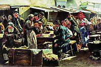 The Meal, 1875, makovskyvladimir