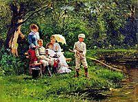 Midday Sun, 1881, makovskyvladimir