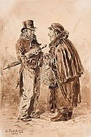 Moscow types, 1879, makovskyvladimir