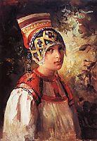 A peasant, 1897, makovskyvladimir