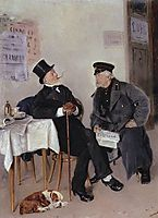 Politicians, 1884, makovskyvladimir