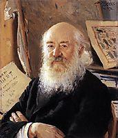 A portrait of Dmitry Rovinsky, 1894, makovskyvladimir