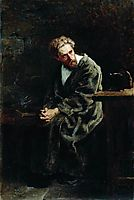 The Prisoner, 1882, makovskyvladimir