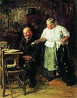 Reprimand, 1883, makovskyvladimir