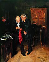 The secret, 1884, makovskyvladimir