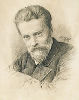 Self portrait, 1893, makovskyvladimir