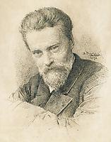 Self portrait, 1893, makovskyvladimir