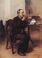 Tobacco taster, 1918, makovskyvladimir