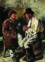 Two ukrainians, 1882, makovskyvladimir