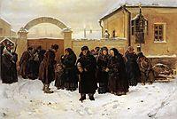 Waiting, 1875, makovskyvladimir