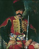 Zaporizhzhya Cossack, 1884, makovskyvladimir