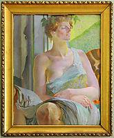 Bacchante (Portrait of Maria Bal), malczewski