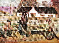 Back in the homeland (Back from Siberia), 1911, malczewski