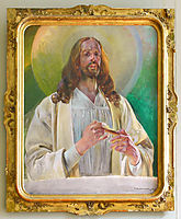 Christ in Emmaus, malczewski