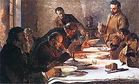Christmas Eve in Siberia, 1892, malczewski