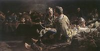 Death on deportees  route to siberia, malczewski