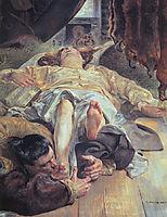 Death of Ellenai, malczewski