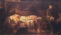 Death of Ellenai, 1883, malczewski
