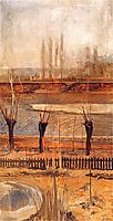 The landscape above the Vistula, malczewski