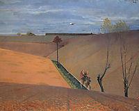 Landscape with Tobiah, malczewski