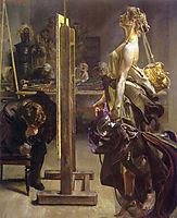 Painter-s Inspiration, 1897, malczewski