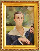 Portrait, malczewski