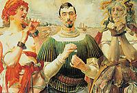 Portrait of Aleksander Wielopolski, 1903, malczewski