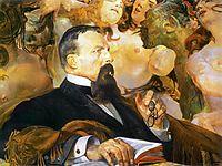Portrait of Edward Raczynski, malczewski