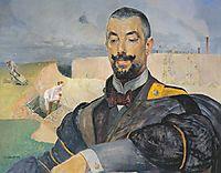 Portrait of Erazm Baracz, 1907, malczewski