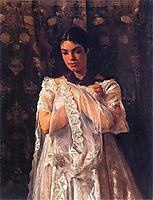 Portrait of Helena Marcell, malczewski