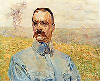 Portrait of Józef Piłsudski, 1916, malczewski