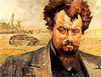 Portrait of Jan Kasprowicz, 1903, malczewski